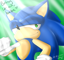 .:Sonic:. Bring it on by SilverfanNumberONE
