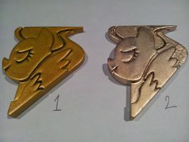 Lead Pony Badge Test Color Gold by skynetbeta
