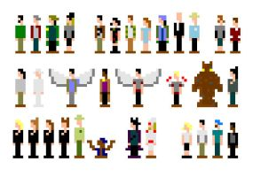 pixle Kevin Smith films by lunchbizzle