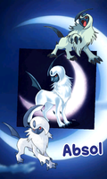 Absol by Moonwing5220