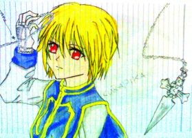 kurapika by japsukiko