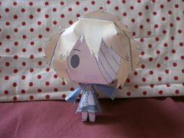 Oliver papercraft by sabrynaM