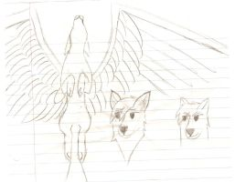 winged wolf 4 by WingedWolfGirl