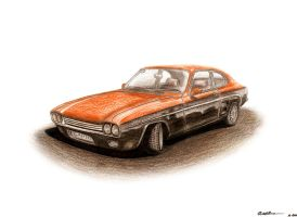 Ford Capri by LukeDesigns