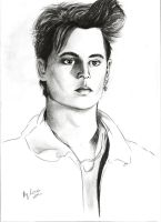 Young Johhny Depp by LasAngel
