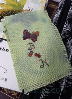 Butterfly Book Bookmark by Mattsma