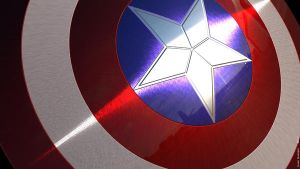 Captain America Wallpaper by Quessey