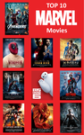 My Top 10 Marvel Movies by Teenknd
