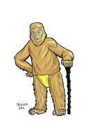 Dr Zaius for Moviefone by dennisculver
