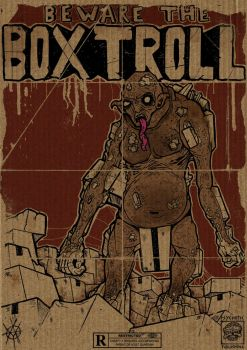 Box Troll by ayillustrations