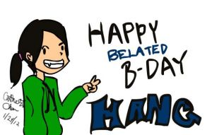 Happy B-day Hang! by xCarnationFox