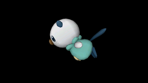 Flying Oshawott by riolushinx
