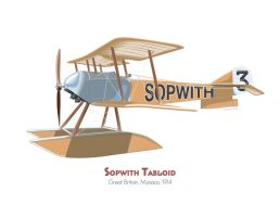 Sopwith Tabloid by MercenaryGraphics