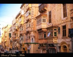 Streets of Valetta by calimer00