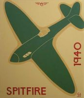 Spitfire 1940 by gibsart