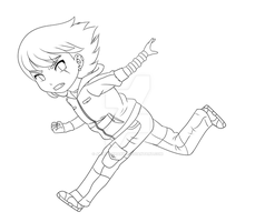 Request - Denishellflame Lineart - Livestream by aninhachanhp