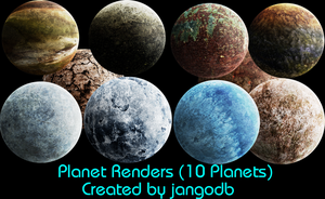 Planet Renders by jangodb
