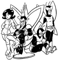 The Monarch Inks by Marvelousboy
