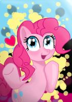 Hi! I'm Pinkie Pie by Chaos-Flare44