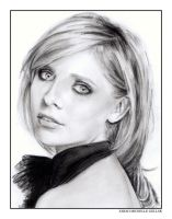 Sarah Michelle Gellar by bulletinthegun