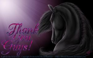 A Gift For The MXit Team ~ Staff 2014-05-15 by Blood-Huntress