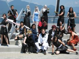 Final Fantasy 7 group by Shes-t
