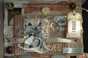 Octopus Collage by lonesomeaesthetic