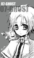 07-Ghost- Teito Sketch by Sloth-chan