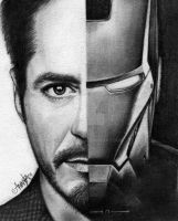 Tony Stark/ Iron Man by Mannaz11