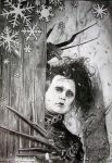 Edward at Christmastime by VanessasCustomArt