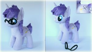 Oc pony plush by Lavim