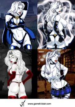 Lady Death mix by gb2k by Mythical-Mommy