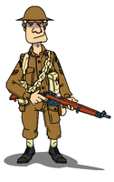 British_Army_WWII_Soldier by darthpandanl