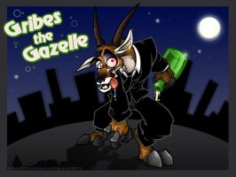 Gribes the Gazelle by zillabean