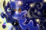 Painting the Night by CarligerCarl