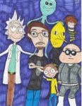Justin Roiland and His Voices by Camila-Andromeda