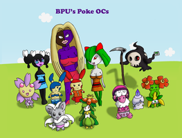 BPU's Poke OCs by KiloTrays