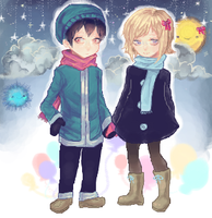 Iscribble: And then you became the moon by Lilycal