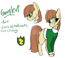 Greenleaf Ref|Read below| by ChasingShadows101