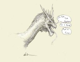 Smaug the Boastful by Ashere