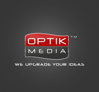 Optik media logo by NicaChristian