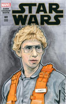 Matt the Radar Technician Sketch Cover by Geekincognito