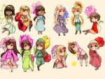 Hetalia girls by meocherry