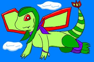 CP: Flame Shadow the Flygon by Inukage-Okami