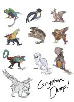 Gryphons! by Aribis