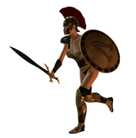 Spartana : Female Warrior 001 by Selficide-Stock