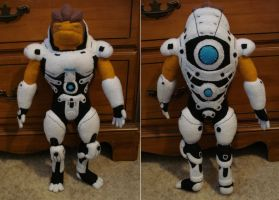 Custom plush - Grunt by silentorchid
