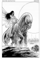 Dejah Thoris 37 cover art by FabianoNeves
