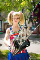 Juliet Starling lollipop Chainsaw cosplay by Nemu013