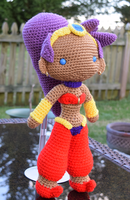 Shantae Doll by featheredshaft